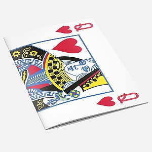 view The Queen of Hearts A6 Notebook details
