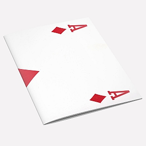 The Ace of Diamonds A6 Notebook